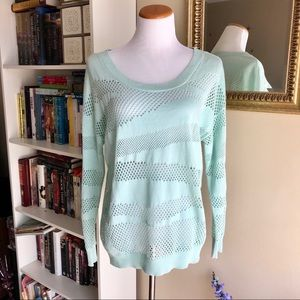 Vince Camuto Sage Knit Pullover Summer Sweater
